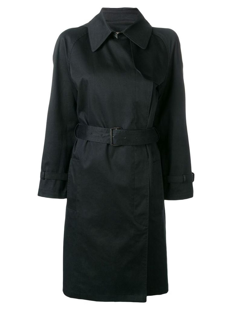 Hermès Pre-Owned 2000's trench coat - Blue