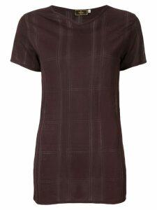 Fendi Pre-Owned Short Sleeve Tops - Brown