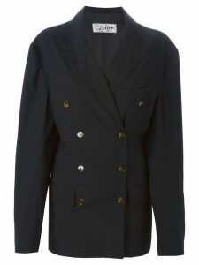Jean Paul Gaultier Pre-Owned double breasted blazer - Black