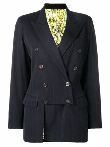 Jean Paul Gaultier Pre-Owned 1990's pinstripe blazer - Black