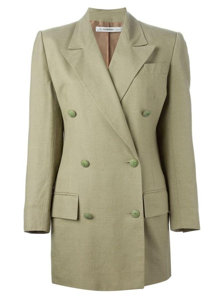 Jean Louis Scherrer Pre-Owned skirt suit - Green