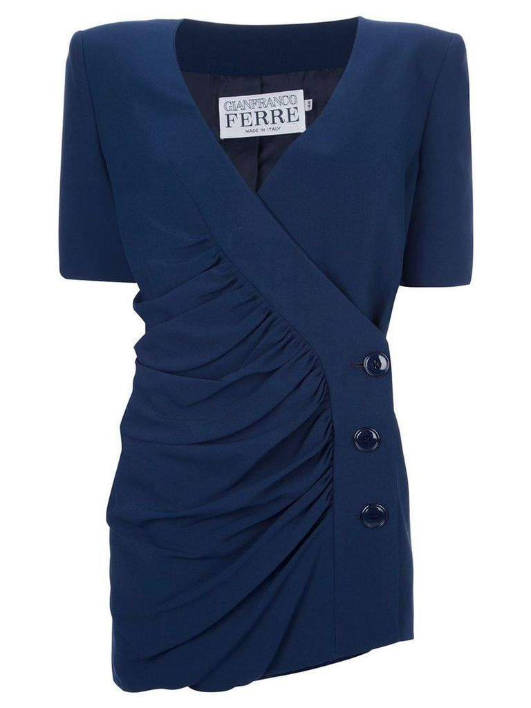 Gianfranco Ferre Vintage jacket and skirt suit - Blue