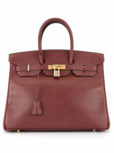 Hermès Pre-Owned BIRKIN 35 Hand Bag Couchevel - Brown