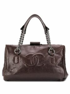 Chanel Pre-Owned CC logo tote bag - Brown