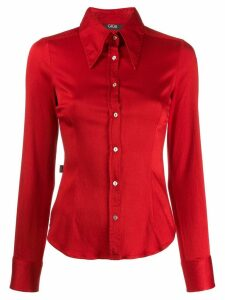 Romeo Gigli Pre-Owned 2000's slim-fit shirt - Red