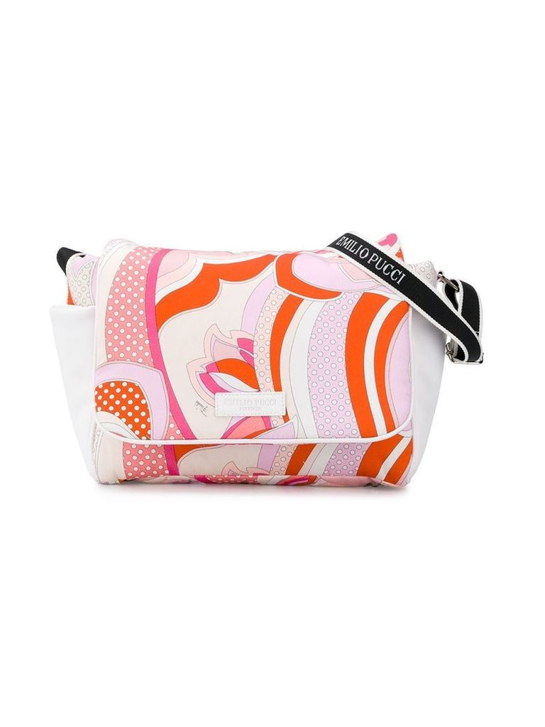 Emilio Pucci Junior printed changing bag - Pink