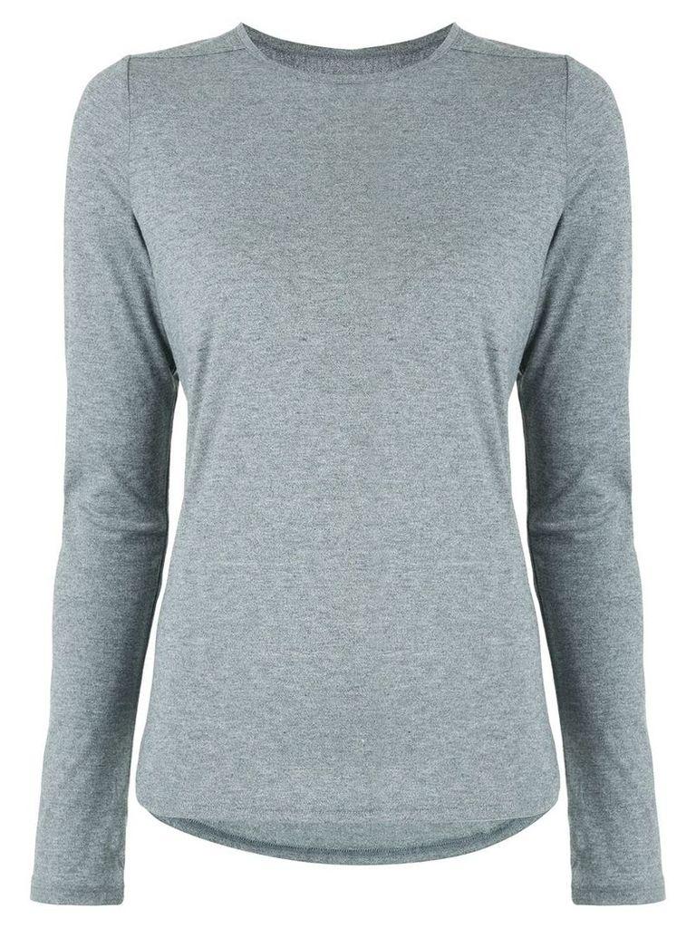 Nimble Activewear Warming Up long sleeve top - Grey