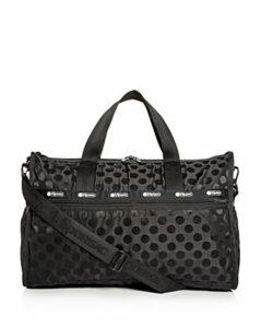 LeSportsac Rebecca Polka-Dot Weekender Duffel Bag