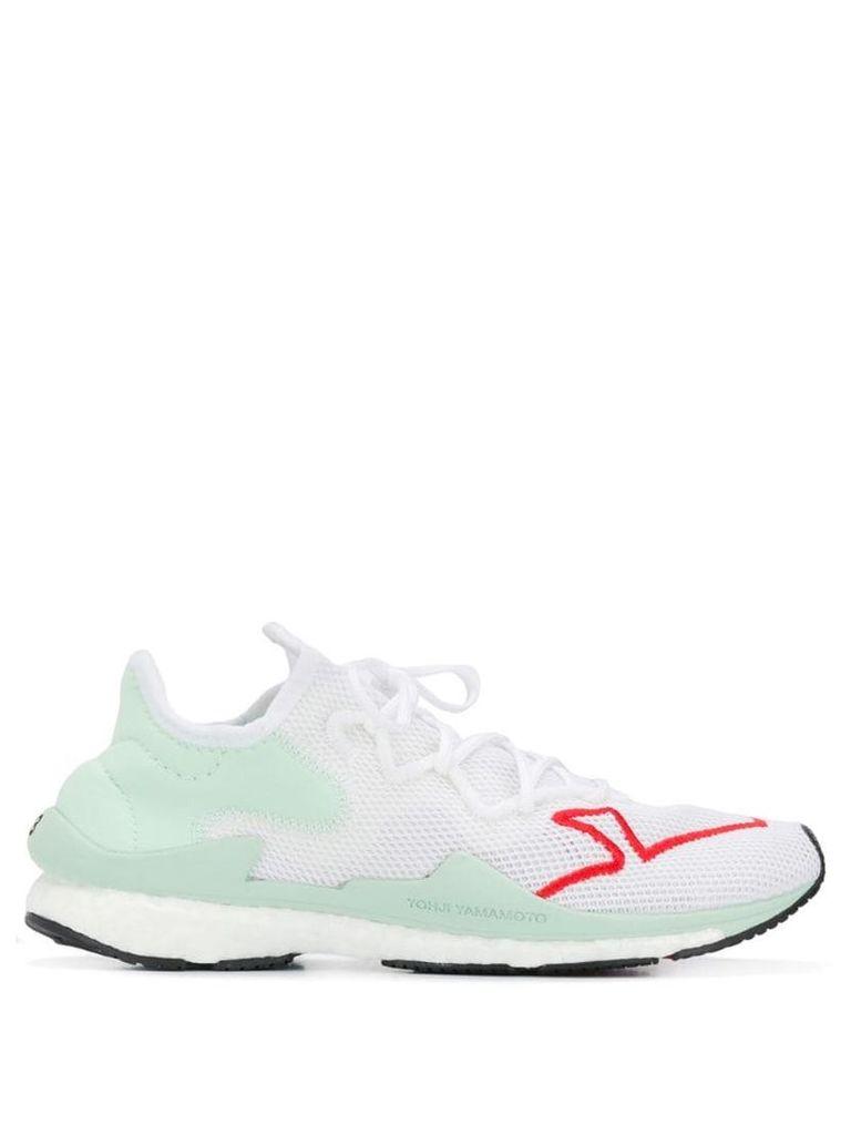 Y-3 mesh sneakers - Green