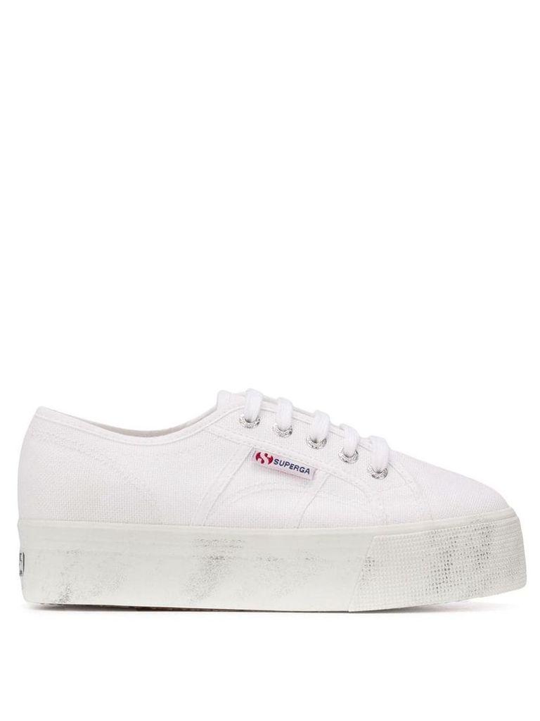 Superga 2790 flatform sneakers - White