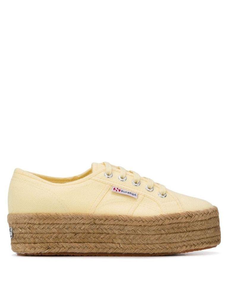 Superga 2790 Cotrope sneakers - Yellow