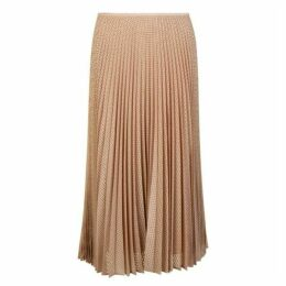 Fendi Mesh Pleated Skirt