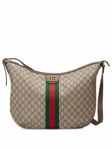 Gucci Ophidia GG shoulder bag - Brown