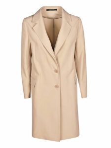 Tagliatore Single Breasted Buttoned Long Blazer