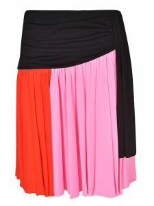 MSGM Color-block Skirt