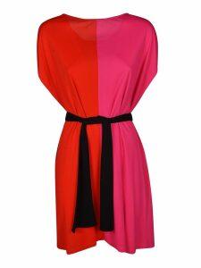 MSGM Belted Dress