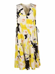 Dries Van Noten Paint Print Dress