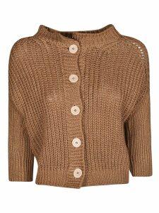 Bruno Manetti Crop Knitted Cardigan
