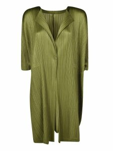 Pleats Please Issey Miyake Pleated Coat