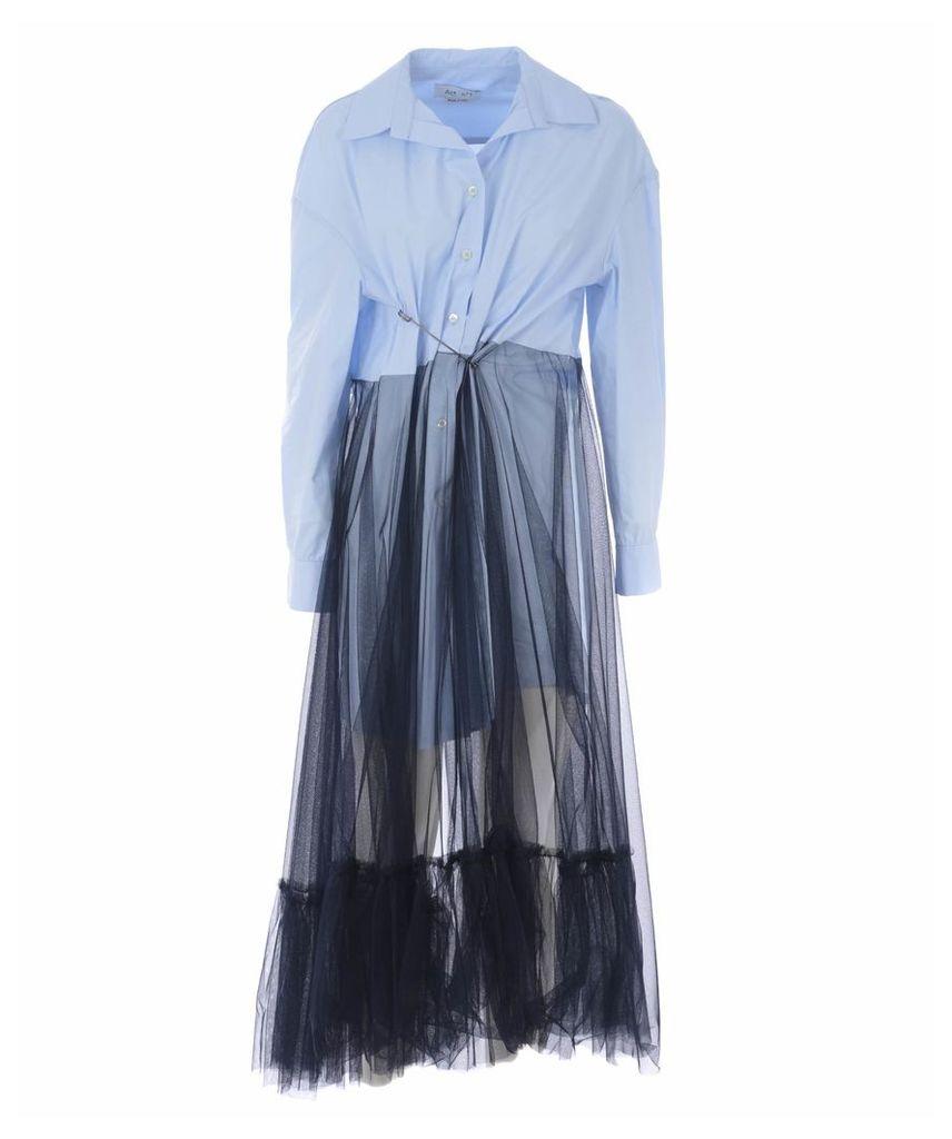 Act N°1 Safety Pin Detailed Dress