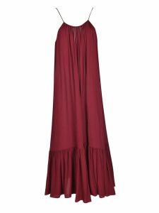 Erika Cavallini Pleated Maxi Dress