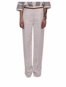 Loro Piana White Trousers