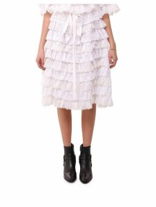 Dolce & Gabbana White Skirt
