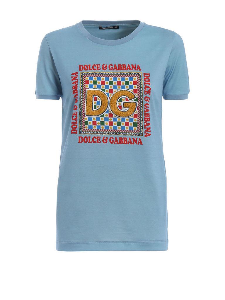 Dolce & Gabbana Dg Patch T-shirt