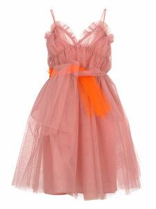 Msgm Mini Tulle Dress