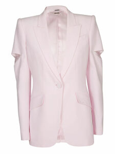 Alexander McQueen Single Button Blazer