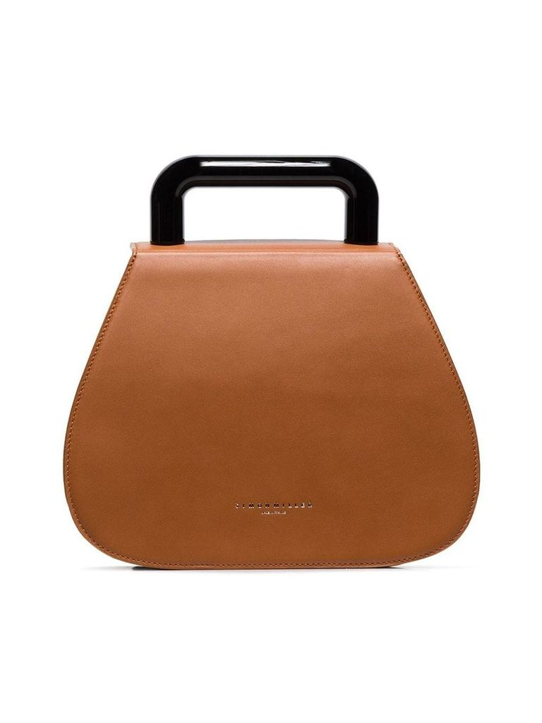 Simon Miller brown Blast leather tote bag