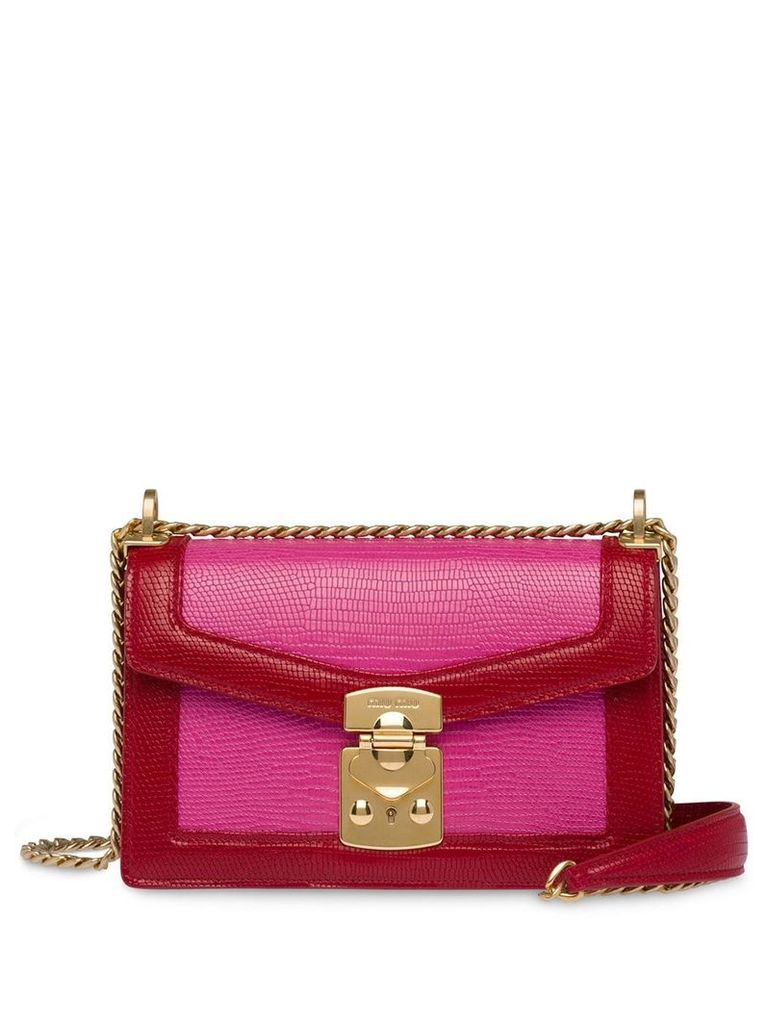 Miu Miu Miu Confidential shoulder bag - Pink