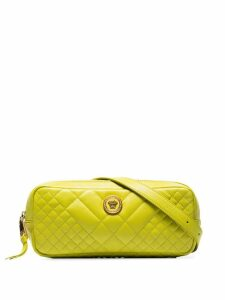 Versace Yellow Medusa quilted-leather belt bag