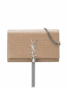 Saint Laurent Kate tassel bag - Neutrals