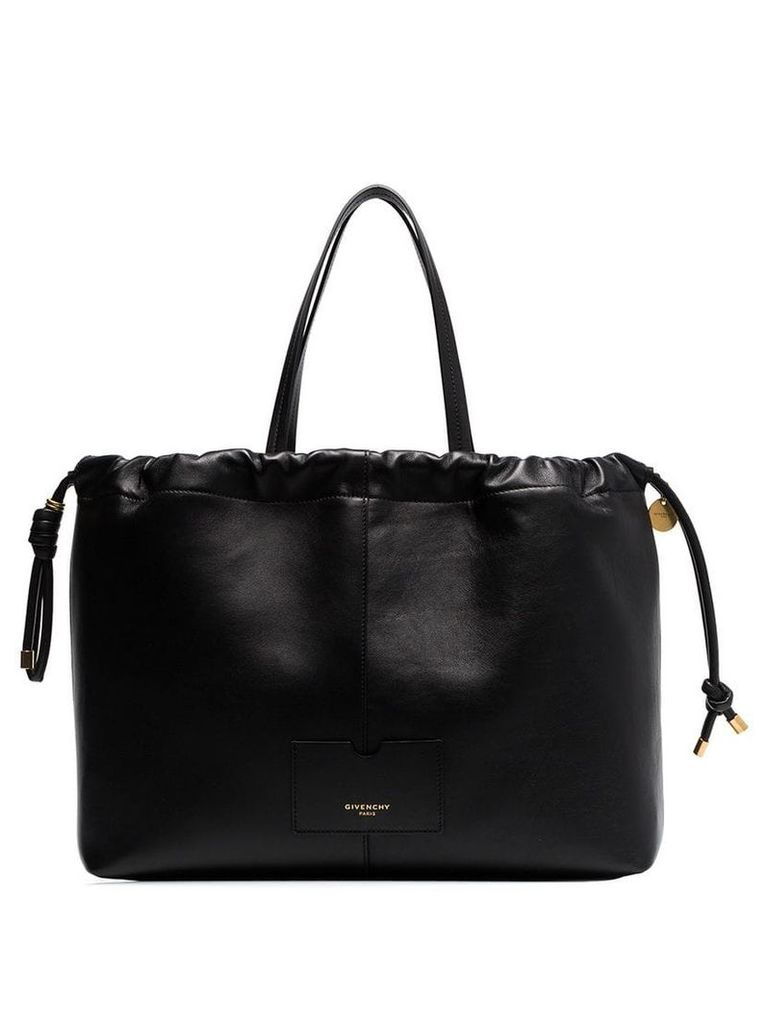 Givenchy Black Tag Eastwest leather tote bag