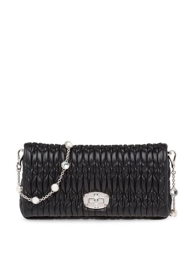 Miu Miu Miu Crystal bag - Black