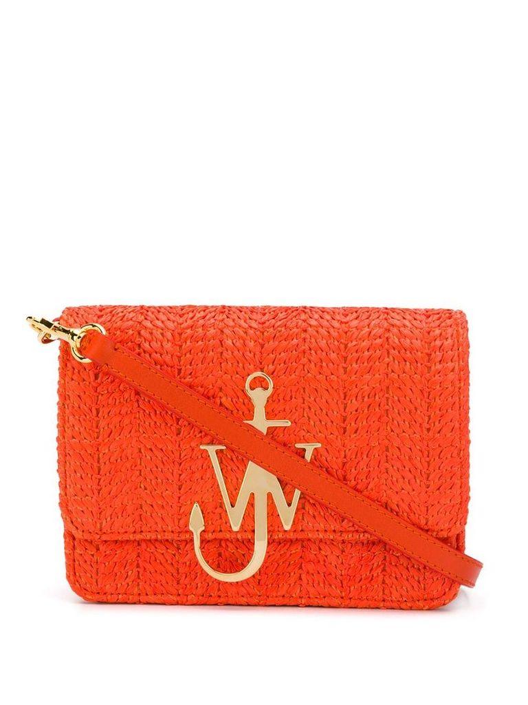 JW Anderson woven anchor logo bag - Orange