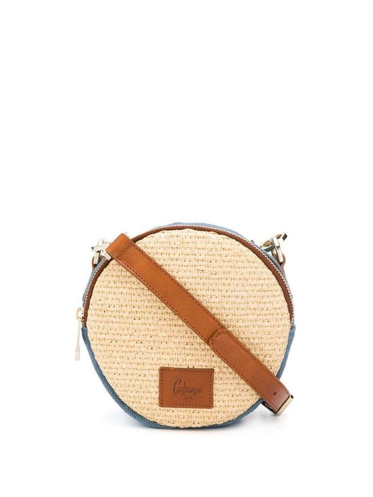 Castañer cobo denim crossbody bag - Neutrals