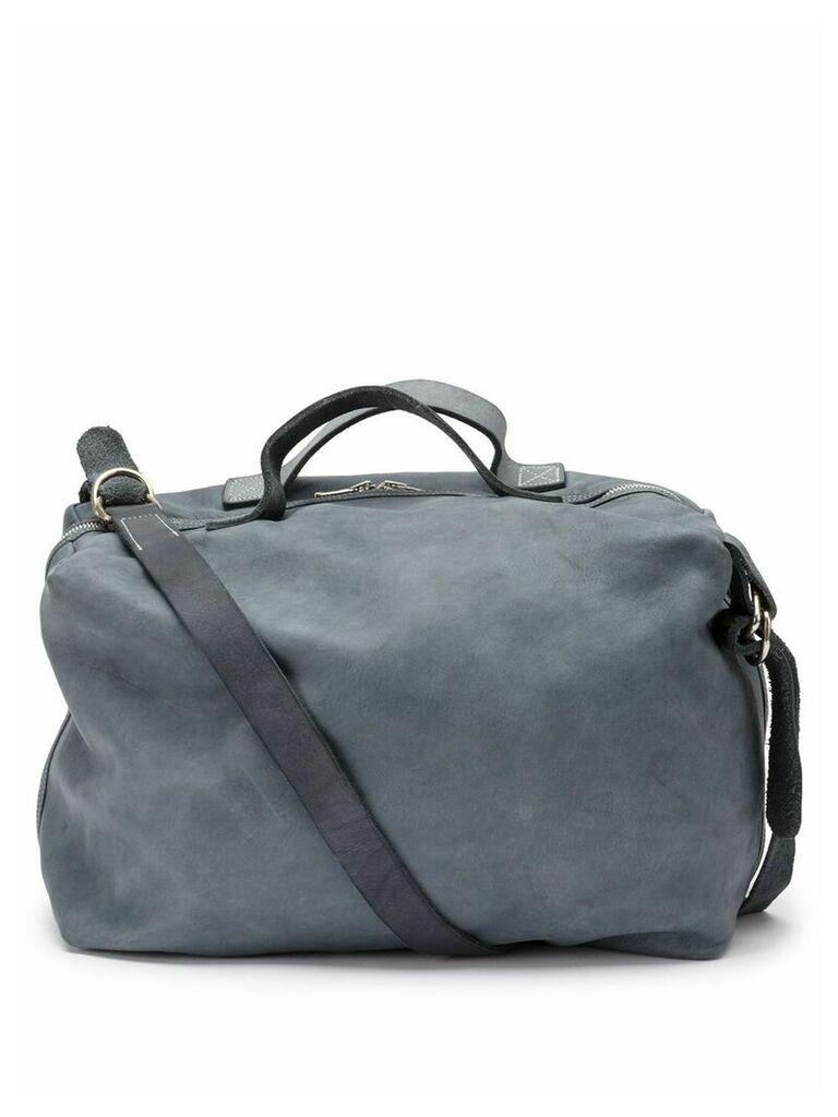 Guidi plain shoulder bag - Blue
