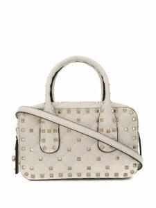Valentino Valentino Garavani small Rockstud Bauletto bag - White