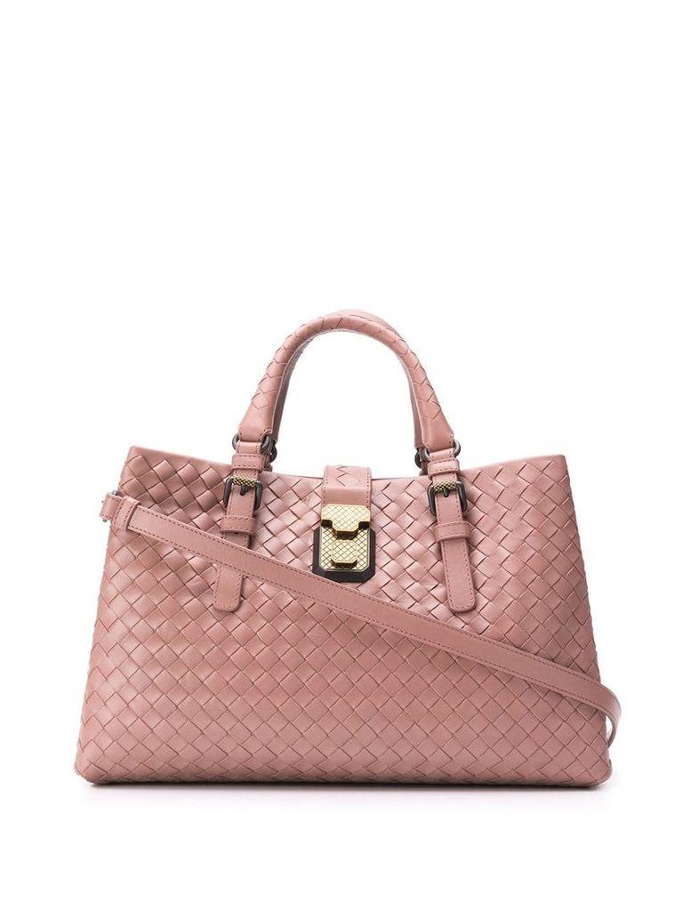 Bottega Veneta small Roma bag - Pink