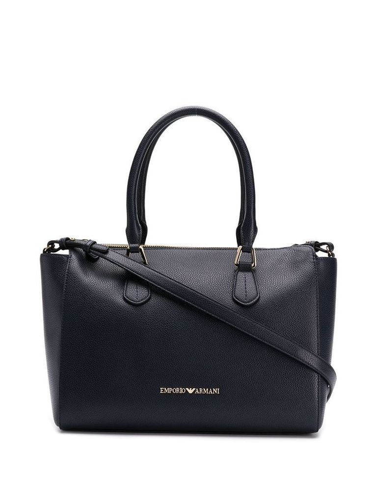 Emporio Armani classic shopping bag - Blue