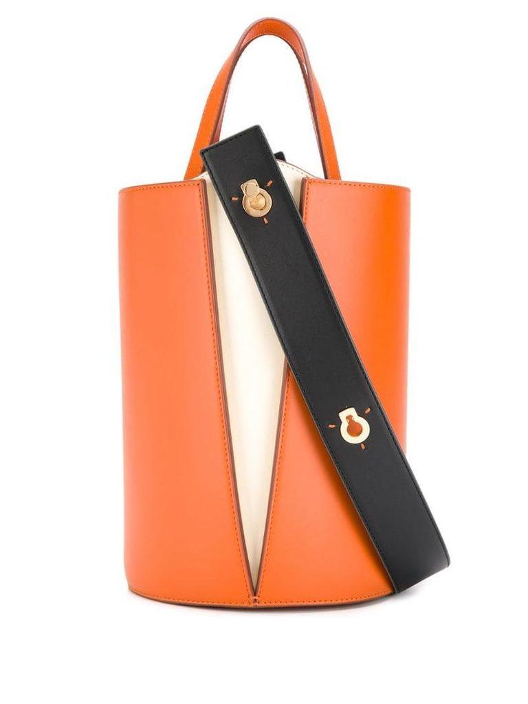 Danse Lente lorna bucket bag - Orange