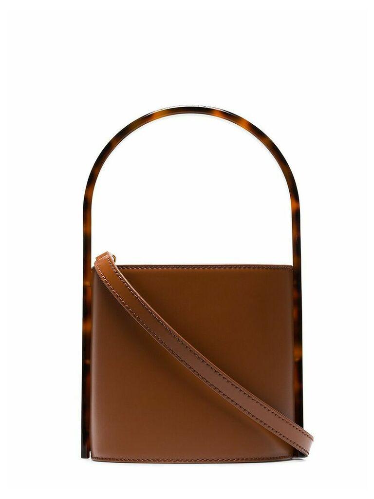 Staud Bisset bucket bag - Brown