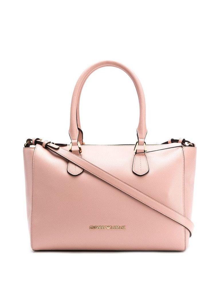 Emporio Armani Bang tote bag - Pink