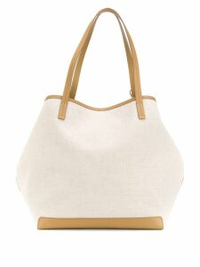 The Row Park oversized tote - Neutrals
