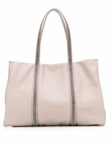 Fabiana Filippi beaded tote bag - Grey