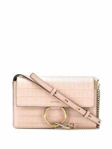 Chloé ring flap crossbody - Pink