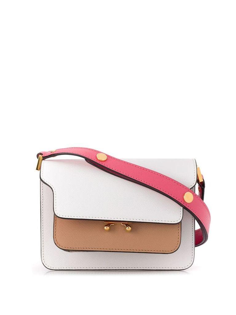 Marni mini Trunk bag - White