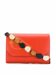 Ballen Pellettiere embroidered satchel bag
